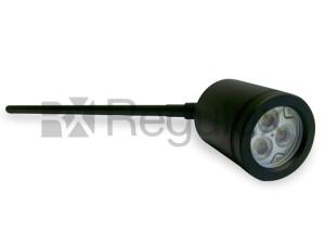 CYCLOPSE BL Directional Head Spike Spot Aluminium Black