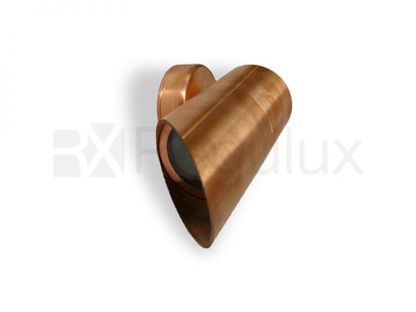 DINGO C CP Single Surface Mount Spot Cowl Facia Copper