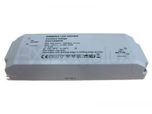 DriverTD 50. 50w LED Triac Dimmable Driver IP44 12/24v