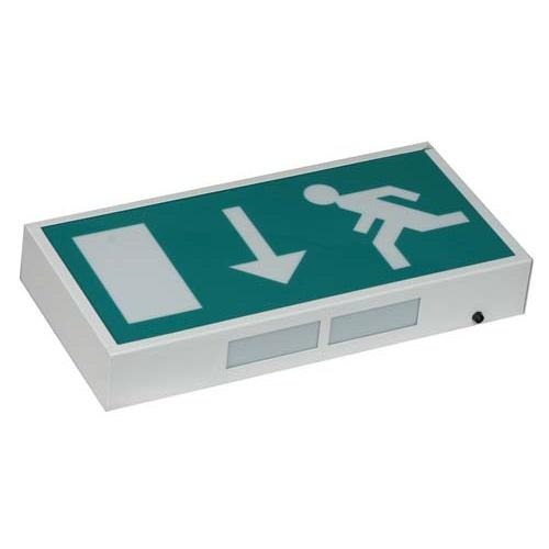 DEMEXBM-LED. LED Exit Box & Sign. Maintained. 27 LED. 4w. 53Lm