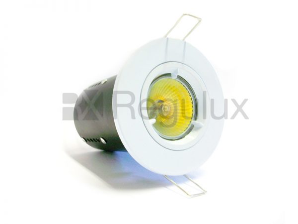 FRLRFG – Fixed Diecast Aluminium Fire-Rated GU10 Downlight