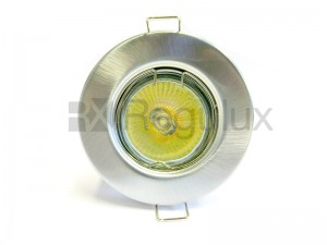 FRF1LV - Fixed Pressed Steel Fire-Rated MR16 Downlight