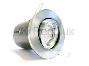 FRLRTG – Lock Ring Tilt Diecast Aluminium Fire-Rated GU10 Downlight