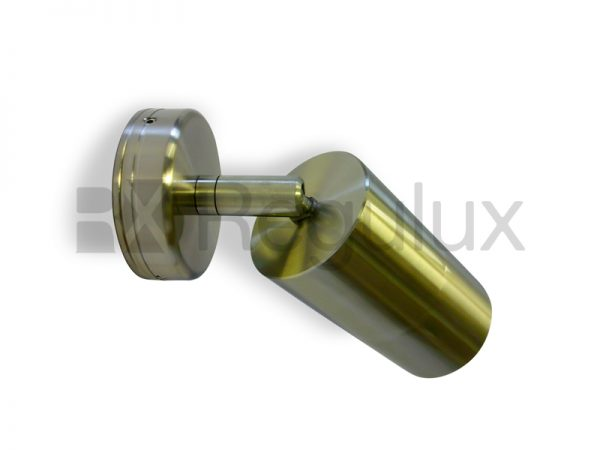 KESTRAL – Adjustable Wall Spotlight 316 Marine Grade Satin Silver