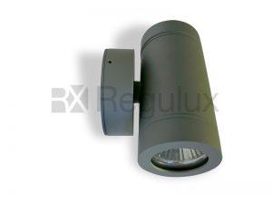 HAWK A Up & Down Spotlight Aluminium Grey