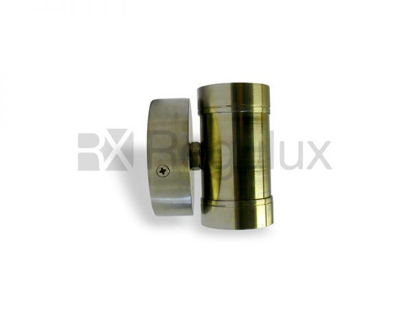 MINIHAWK 2x1w LED Stainless Steel Mini Range External Spotlights
