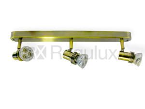 WBS3GZ10 - Linear Bar Surface Mount 3x Spot 50W Max GU10