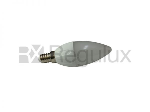 CL4. 4w LED Candle Lamp. E14. E27. B22. Clear Lens. Frosted Lens