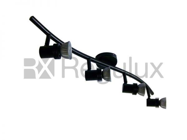 BOW4 – Wavy Linear Bar Surface Mount 4xSpot 50W Max GU10