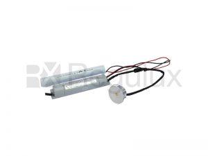 EMDLED-3w. LED Recessed Emergency Downlight. 3w.