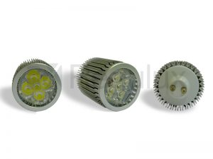LS5x2. 5x2w 240v LED Lamp. GU10 & MR16
