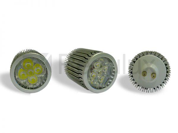 LS5x2. 5x2w 240v LED Lamp. GU10 & MR16