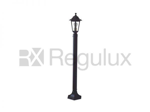 Victorian Lantern – Head & Pole 122cm in Cast Aluminium