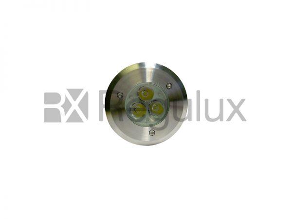 RHINOLED – 3w (1w x3) High Power Inground Drive Over IP67 Uplight