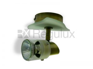 Stingray Single Spotlight with Glass Shade