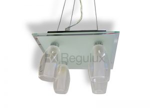 STYLO4 – 4x 40w Drop Glass Pendant Light Fitting