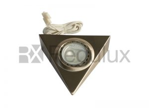 TRL. Triangular Halogen Cabinet Light.